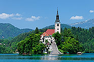 Lake Bled and the Church of the Assumption