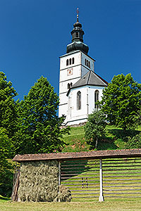 The Church of the Annunciation, Crngrob,