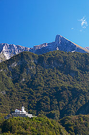 The WWI Charnel House and Mt. Krn, Kobarid