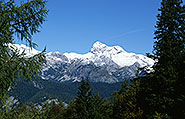 Triglav from the Vogel Ski Station