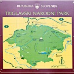 Triglav National Park map