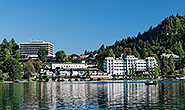 Hotels beside Lake Bled