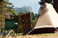 Camping Bed (photo by Aljosa Vidovic, courtesy of Camping Bled)