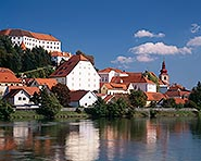 Ptuj beside the River Drava