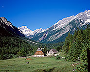 Zapoden in the Soca Valley, Slovenia