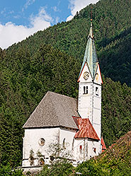 Church of Our Lady of the Snows (Marija Snežna), Solcava