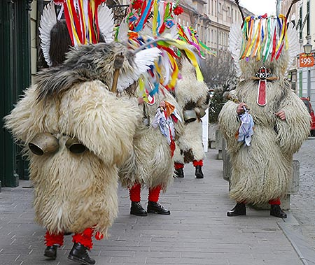 Kurentovanje Festival in Ptuj - © Andrejj at Wikimedia Commons